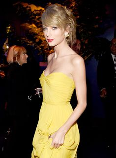 Inside the InStyle and Warner Bros. 2015 Golden Globes After-Party - Taylor Swift from #InStyle