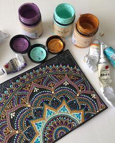 Mandala Art by Ana Art Studio
