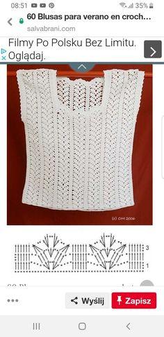 Crochet Top, Fashion Dresses, Lace, Tops, Women, Vintage Crochet, Crochet Blouse, Summer Time, Crocheting