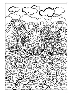 creative haven dreamscapes coloring book - Creative Haven Coloring Books