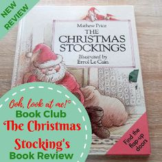 Ooh, look at me! - Christmas Book Club - Book Review The Christmas Stockings by Mathew Price