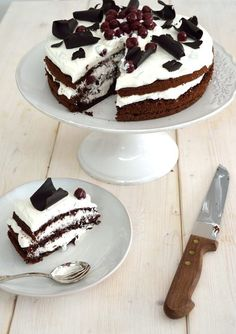 Black Forest Cake, Cake Recipes, Cheesecake, Food Porn, Pudding, Sweets, Cakes, Goodies, Cheese Pies