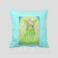 Sweet Dreams Tooth Fairy Pillow available on Zazzle.