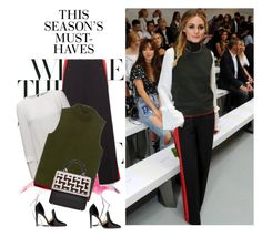 Olivia Palermo by gabriela2105 on Polyvore featuring moda, Rebecca Minkoff, Gianvito Rossi, Les Petits Joueurs and H&M
