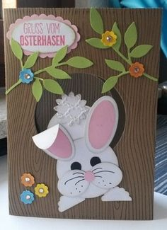 stampin up ostern karte mit hase creatives. Black Bedroom Furniture Sets. Home Design Ideas