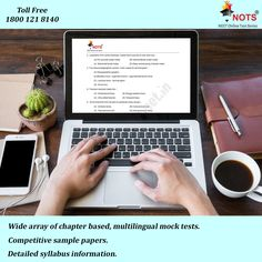 Benefits of #NOTS: Wide array of chapter based, multilingual mock tests, Competitive sample papers, Detailed syllabus information. All the updates on various college guidelines related to MBBS/BDS/MD/MS/Diploma/DM & MCH, All NEET related news. Visit Us: www.neetonline.net.in or Toll Free No: 1800 121 8140 #NEETPGSamplePapers #NEETPGMockTestSeries #NEETPGOnlineTestSeries #MBBS #MedicalAspirants