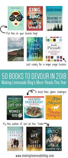 So excited to dig into this list of the best books for the year! From beach reads to mysteries to thrillers and page turners, these are this year's must-read books