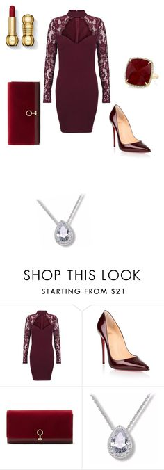 """""""Untitled #4"""" by amerlinacamdzic ❤ liked on Polyvore featuring Christian Louboutin, Louise et Cie and Anne Sisteron"""