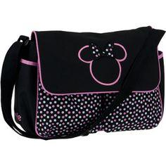 Disney Minnie Mouse Diaper Bag, Multi-Dots