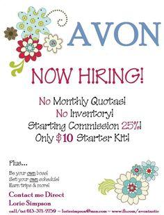 Recruiting Team Fler Avon Representative Marketing Strategies Tools Beauty Make Up