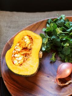 Thai-Style Roasted Kabocha Squash with Crispy Shallots from Eat Your ...