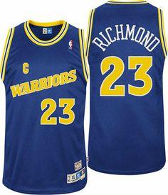 8146564a3 Mitch Richmond Golden State Warriors Throwback Swingman Blue Jersey