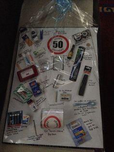 50 Geburtstag Survival Überlebens Kit | geschenkideen