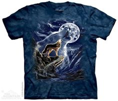WOLF SPIRIT MOON T-SHIRT BY THE MOUNTAIN®