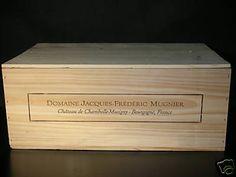 Domaine Frederic Mugnier 12 Bottle Wine Crate