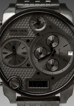 DIESEL Mr. Daddy DZ7247 Watch in Grey - Diesel