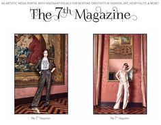 @The7thmagazine gives you fashion, art, culture and much more. We also have a great blog for it as well. ;-) @LuxuryChapters #fashion #design #beauty #popculture #the7thmagazine #luxurychapters #explore #creative #fineart #art #events #editoral #chic