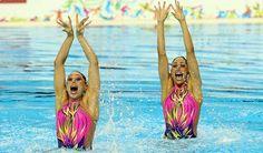 Buen inicio de mexicanas en nado sincronizado