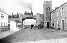 Beware the Headless Engine Driver of Old Carnlough. Have walked under this bridge, but did not know a train once ran across it! Railroad Companies, Garden Railroad, The Far Side, Photographic Studio, A Whole New World, Train Layouts, European Travel, Model Trains, Northern Ireland
