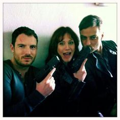 Richard Flood, Gabriella Pession and Tom Wlaschiha  | Crossing Lines