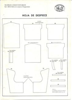 Miniature Wing Chair Pattern - may be able to use for fashion doll.