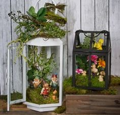 Beautiful Fairy Garden Lantern Ideas 19226 Freshoom.com ...Read More...
