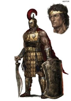 Hektor - Warriors: Legends of Troy Concept Art