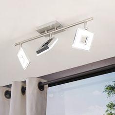 SKAPETZE -    Sempre Cube / drehbarer LED-3er Spot / Chrom Innenleuchten Deckenleuchten