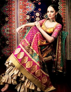 Indian Bridal Wedding Lehengas & Gowns 2016-2017 | BestStylo.com