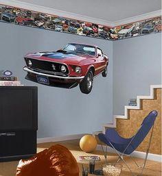Ford Mustang Prepasted Border