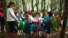 In Natura, Forest School, Earth, Bags, Backpack, Nature, Purses, Totes, Lv Bags