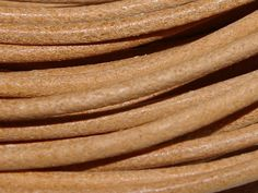 Greek Leather Cord 1.5mm - Natural from Nosek's Just Gems
