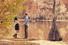 Lakeside park | engagement shoot date | (Adam Hudson)