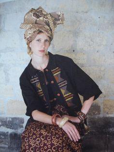 Petite veste avec applications typiques de La Bonne Renommée, 1990