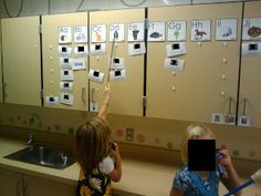 Add student names and sight words to an interactive word wall.