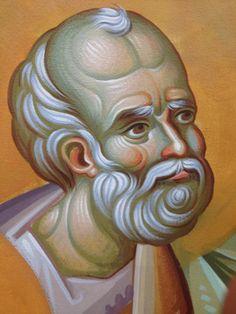 Iconographer Dimitris Maniatis – icoana Byzantine Icons, Byzantine Art, Orthodox Icons, Vignettes, Fresco, Mosaic, Saints, Artsy, Cool Stuff