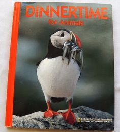 Details about Dinnertime for Animals Nat. Geo. 1991 HC (12617-35 BO) children…