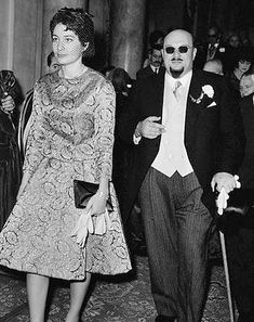 King Farouk after his desthrown with his daughter Princess Fawzia.
