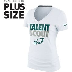 Philadelphia Eagles Nike Women's Talent Scout T-Shirt