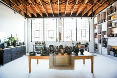 Miri Mara Ceramics showroom