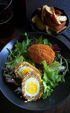 Try something new for dinner! Check out this great Scotch Egg Recipe!