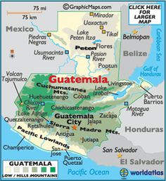 Guatemala Map / Geography of Guatemala / Map of Guatemala - Worldatlas.com