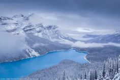 Peyton Lake, Banff National Park, Canada