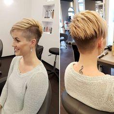 Alina Short Hairstyles - 3