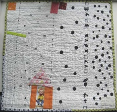 DQS5back - Back of Kay Gardiner's quilt. -     Backing is a fabric by Yoshiko Jinzenji.