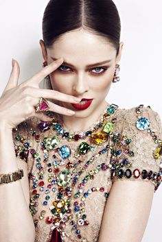 Coco Rocha by Max Abadian