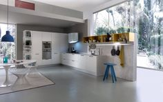 System Collection - Perfect function of an idea A contemporary kitchen designer's dream