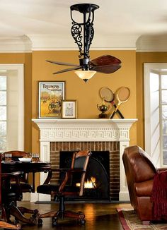 unusual ceiling fans | ... ceiling fan comes down to the light kit and fan blade combination with