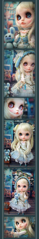 Custom Blythe Dolls: SkyBlue Pharmacy by Asterisk - A Rinkya Blog