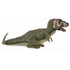 CollectA's detailed replica of the prehistoric Daspletosaurus is realistic and lifelike down to the reptilian texture of its abdomen and the spikes on its back. A relative of the tyrannosaurus, the Daspletosaurus lived approximately 77 to 74 million years ago. This carnivorous predator had strong hind legs and tiny forelegs, like its larger relative the T-Rex. It probably measured 29 - 30 feet in length when it was fully grown, with a 3.3 foot long skull. Each prehistoric figure in the…